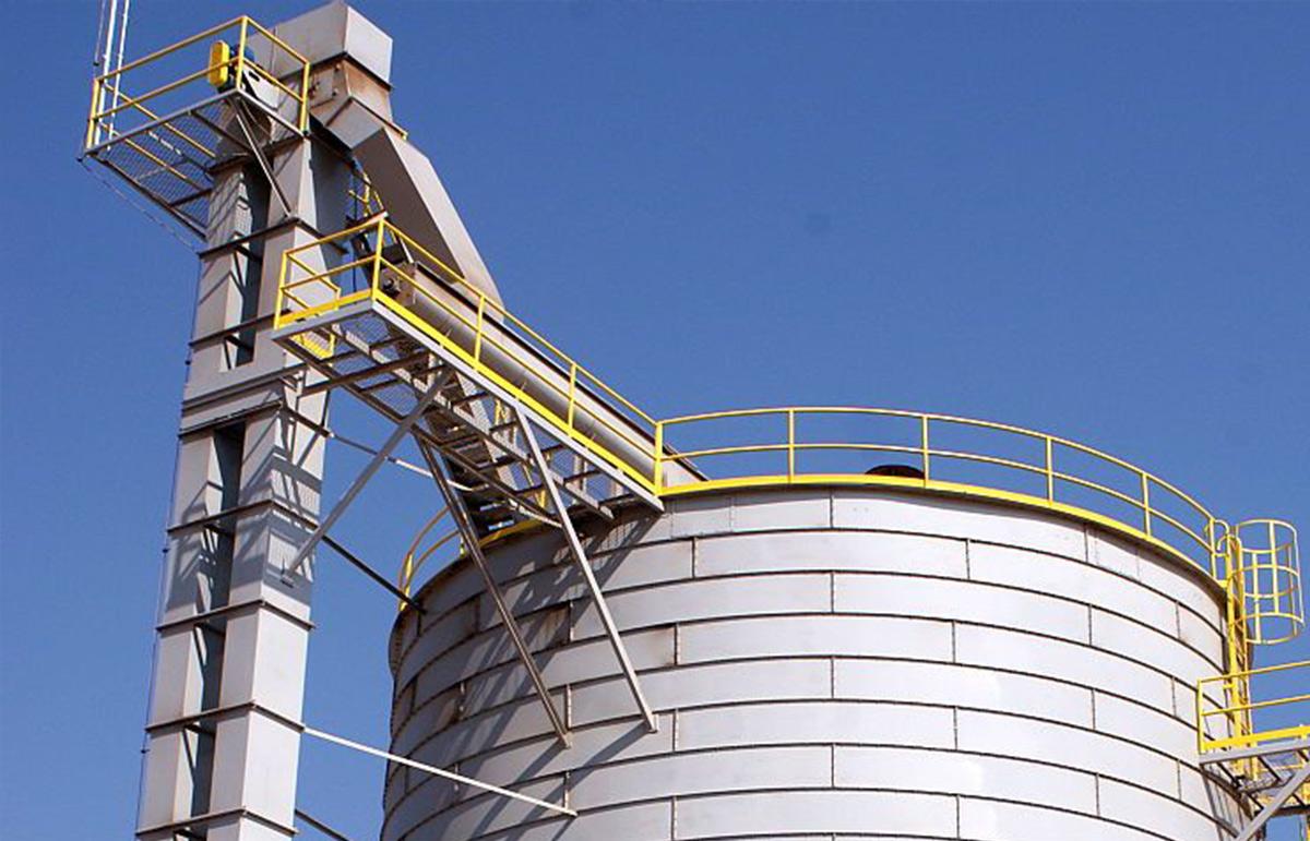 silo à grain